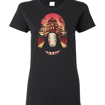 Welcome to the Magical Bathhouse Ladies T-Shirt