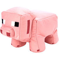 Minecraft Reversible Plush - Pig to Porkchop