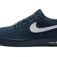 Nike Air Force 1 Low Blue For Women Men Running Sport Casual Shoes Sneakers
