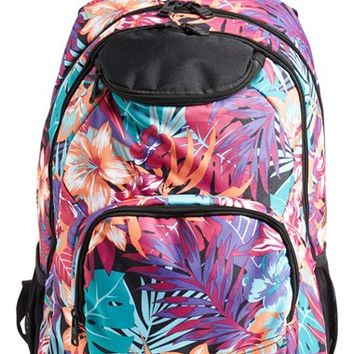 Girl's Quiksilver 'Shadow Swell' Backpack - Purple