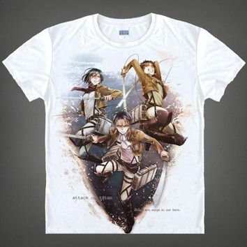Attack On Titan Short Sleeve T-Shirt V1
