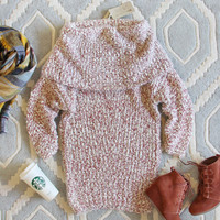 The Nubby Knit Sweater Dress