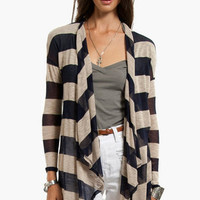 Striped Away Cardigan $25