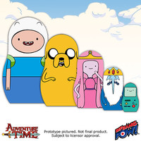 Adventure Time Wood Nesting Dolls - Set of 5 - Bif Bang Pow! - Adventure Time - Nesting Dolls at Entertainment Earth