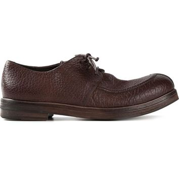 Marsèll cracked leather lace-up shoes