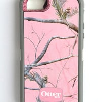 Otterbox Defender Case AP Pink Realtree Camo iPhone 5 Glitter Cute Sparkly Bling Defender Series Custom Case Kunzite/ Pink Realtree