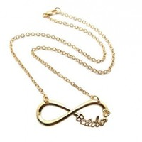 Very Rare Gold Justin Bieber Belieber Infinite Directioner Pendant w/3mm Link Chain Necklace XC324G:Amazon:Jewelry