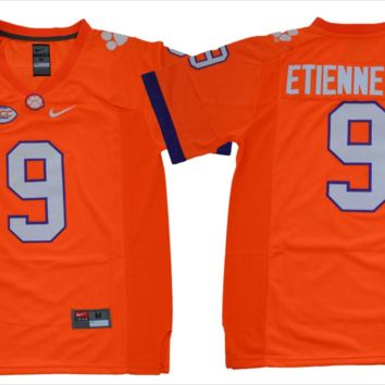 TRAVIS ETIENNE JR. #9 CLEMSON TIGERS FOOTBALL JERSEY (ADULT AND YOUTH SIZES)