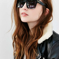 Chunky Oversized Flat Top Sunglasses - Urban Outfitters