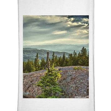 Nature Photography - Pine Kingdom Flour Sack Dish Towels by TooLoud