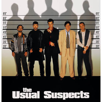 The Usual Suspects Movie Poster 11x17