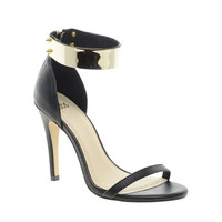 ASOS | ASOS HONG KONG Heeled Sandals with Metal Trim at ASOS