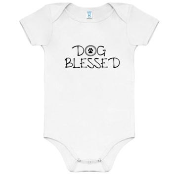 Dog Blessed Boys Onesuit
