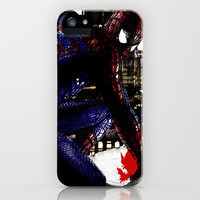 Spiderman in London Close up iPhone Case by D77 The DigArtisT | Society6