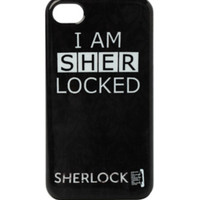 Sherlock I Am Sherlocked iPhone 4/4S Case