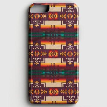 Pendleton Maroon Chief iPhone 7 Case