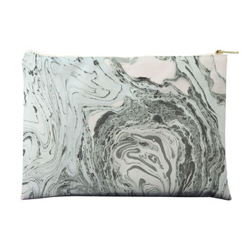 Marbled Mint Pouch