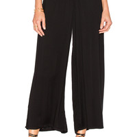 Young, Fabulous & Broke Dessa Pant in Black Solid
