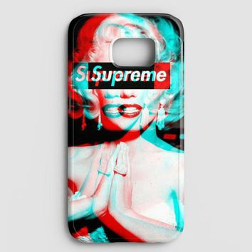 Supreme Monroe Samsung Galaxy S7 Edge Case