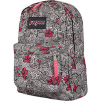 Jansport geometric flower pattern print