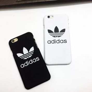 Simple Unique Adidas Print Iphone 8 8 Plus 7 7 Plus Cover Case