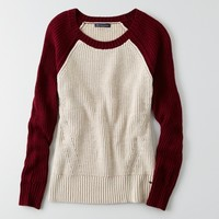 AEO COLORBLOCK SWEATER