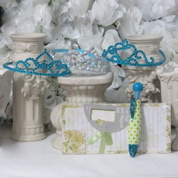 Girls Gift Set - Princess Accessories - Dress Up Girls - Flower Girl Hair Accessories - Girls Hair Accessories - Princess Party - Gifts