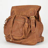 T-SHIRT & JEANS Washed Faux Leather Backpack 203332409 | Backpacks | Tillys.com