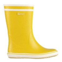 Malouine Yellow | Natural Handcrafted Rubber Boots