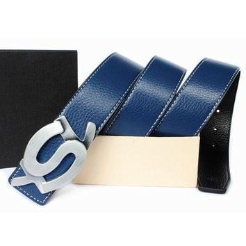 DCCKNQ2 YSL Fashion Leather Belt3