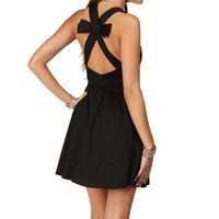 Black Bow Back Sundress