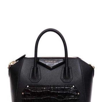 GIVENCHY  Small Antigona leather bag with Croc embossment