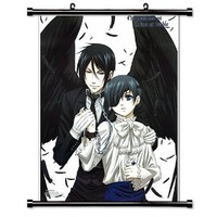 Black Butler Anime Fabric Wall Scroll Poster (16 x 23) Inches