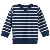 Baby Boy Jumping Beans® Striped Thermal Terry Top | null