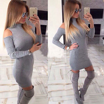 New Fashion Summer Sexy Women Mini Dress Casual Dress for Party and Date = 4725186884