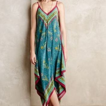 Selva Silk Maxi Dress
