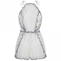 Ceramic Pinafore Playsuit