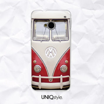 Retro Volkswagen Bus phone case for HTC one m7, m8 - htc one mini, one max - Nokia lumia 520, 920, 1520 - VW Minibus phone cover - A20