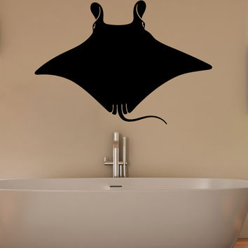 Vinyl Wall Decal Sticker Stingray #5500