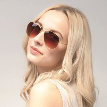 Classic Aviator Sunglasses for Women