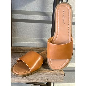 Lizi Slip on Sandals in TAN