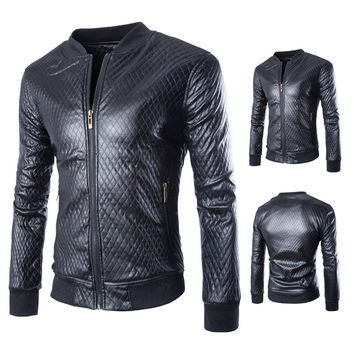 Motorcycle Suede Leather Jacket