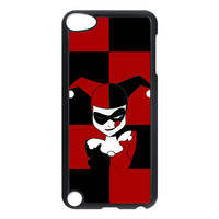harley quinn character in batman design for apple ipod 5 touch case