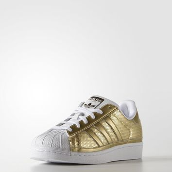 adidas Superstar Shoes - Gold | adidas US