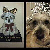 Custom Pet Ornament or Magnet Created From Your Photo