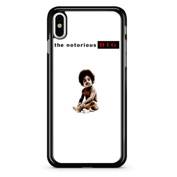 The Notorious Biggie iPhone X Case