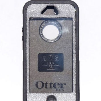 OtterBox Defender Series Case iPhone 5 Glitter Cute Sparkly Bling Defender Series Custom Case Silver/ Black