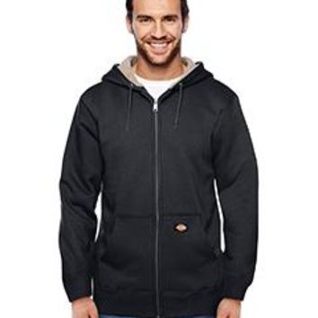 Dickies - Men's 450 Gram Sherpa-Lined Fleece Hooded Jacket