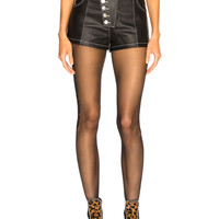 Alexander Wang High Waisted Short in Black | FWRD