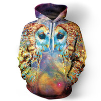 Owl Language Hoodie - READY TO SHIP